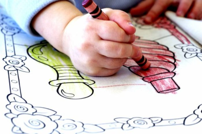 Why You Should Never Give Your Child Colouring Pages - Empowered Parents