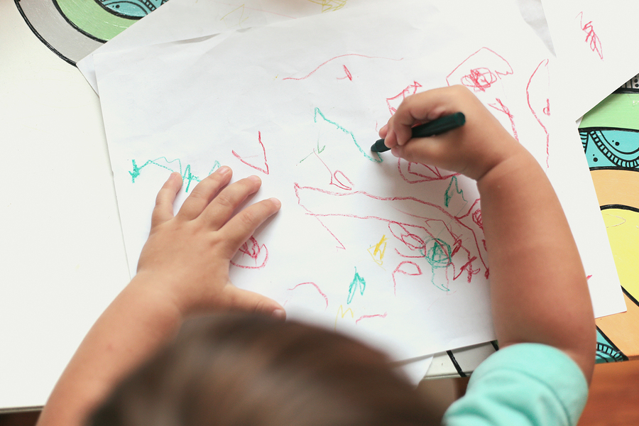 The Stages of Drawing Development in Children: 0-6 Years - Empowered Parents