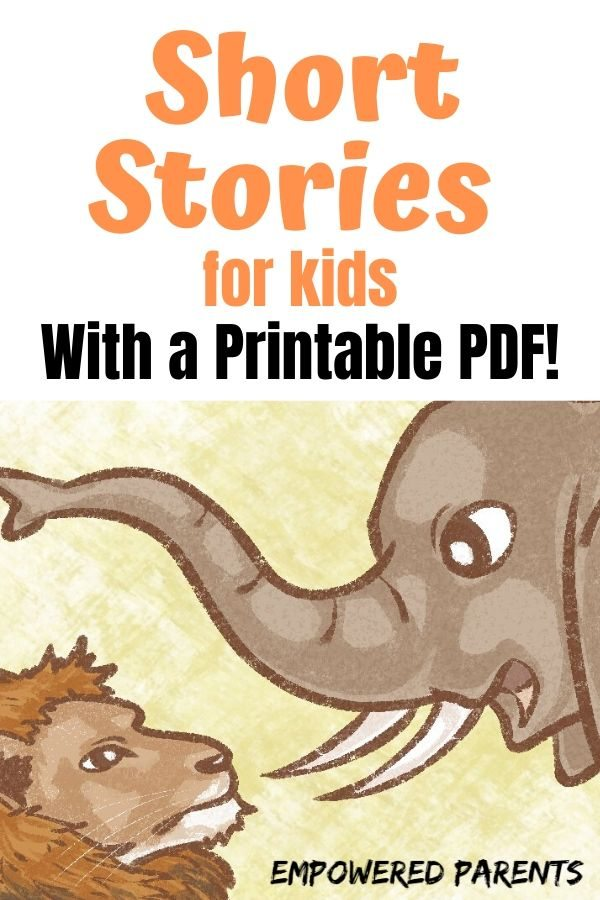 4 Short Funny Stories for Kids (with a Printable PDF